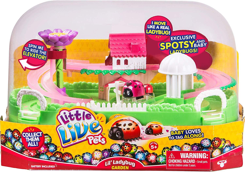 Little Live Pets Ladybug Special Set £9.99 @ Argos