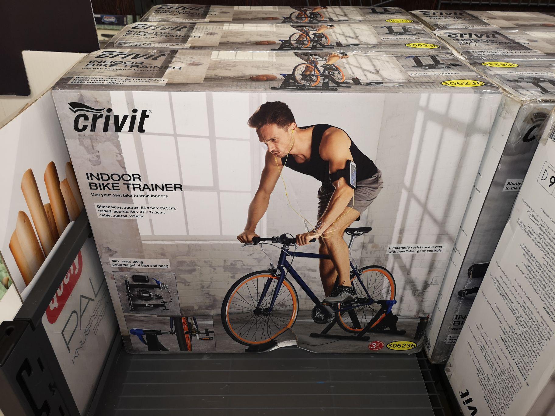 Crivit indoor bike trainer £29.99 @ LIDL