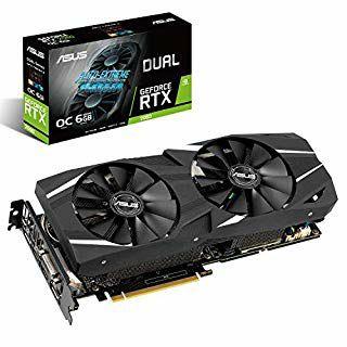 ASUS Dual GeForce RTX 2060 OC Edition Graphic Card (6 GB GDDR6) £329.99 @ Amazon
