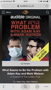 Audible Members Sale - What seems to be the Problem - £10.39