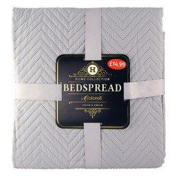 Luxury Bedspreads 150 x 200cm 10 Colours 4.99 Instore @ Poundstretcher