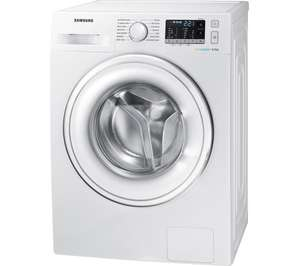 SAMSUNG ecobubble WW80J5555DW 8 kg 1400 Spin Washing Machine - White with 5 Year Guarantee £329 with code @ Currys