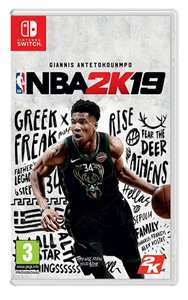 NBA 2K19 on Nintendo Switch for £9.99 Delivered @ Simplygames