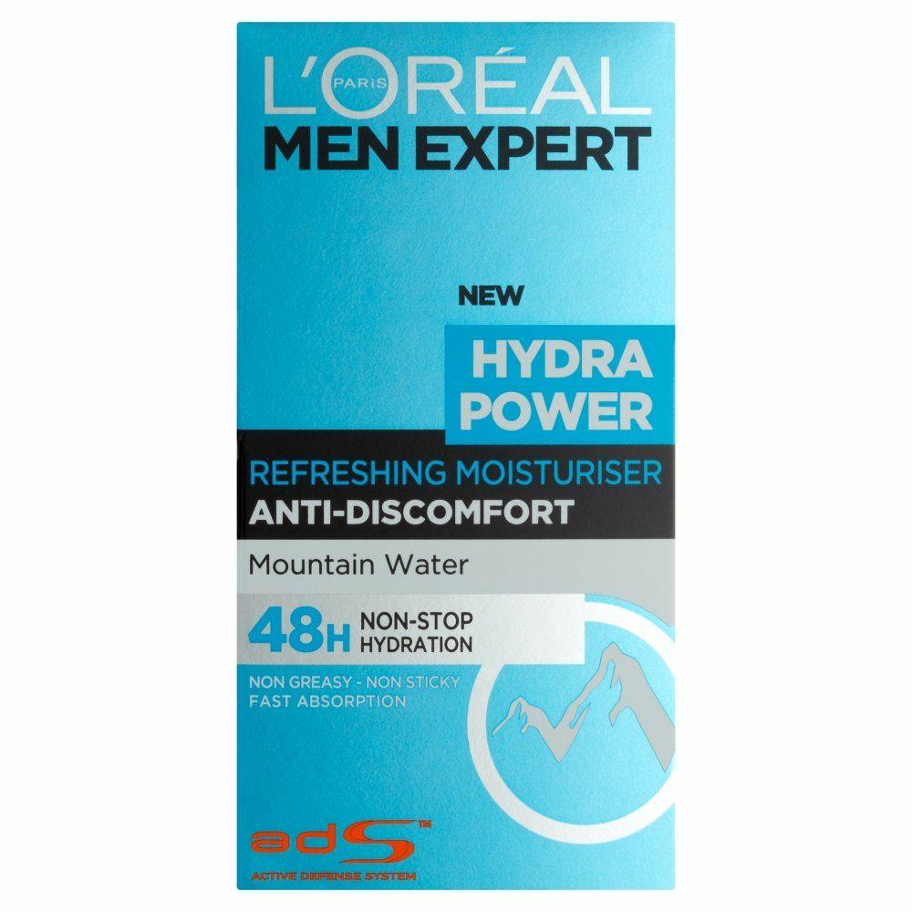 L'Oréal Men Expert Hydra Power Refreshing Moisturiser, 50 mlbyL'Oreal Paris £4 @ Amazon (£8.49 Non-prime)