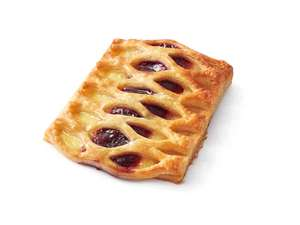 Lidl Bakery Cherry and Custard Lattice 3 for £1 @ Lidl