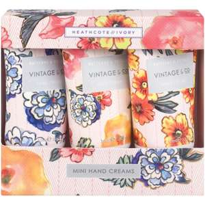 Vintage & Co 30ml Mini Hand Creams Pack of 3 - £3.99 Amazon Add-On