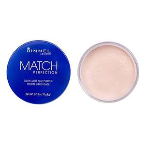 Rimmel London Match Perfection Silky Loose Face Powder £3.46 + £4.49 delivery Non Prime @ Amazon