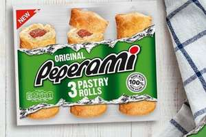 Peperami Original Pastry Rolls £2.50 @ Asda - £1.00 after cashback via Checkoutsmart