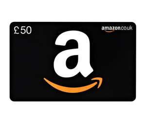 Extra £6 for free when you buy £50 worth of Amazon Gift Cards - New gift Card Customers (use gmail for that bit!)  @ Amazon