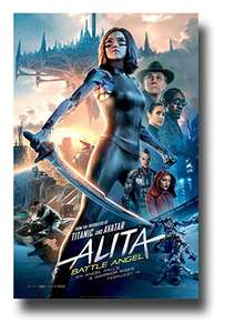 Alita: Battle Angel 4K UHD £2.49 to watch or £4.99 To Buy with code @ Chili