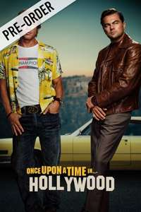 Once Upon A Time In Hollywood (HD Preorder) - £7.49 - Chili (SD - £5.99 / HD+ - £7.49)