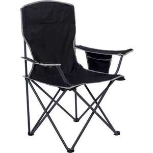 Quest Easy Morecambe Chair - Black £8.09 @ Robert Dyas