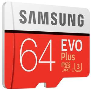 64GB Samsung EVO Plus Micro SDXC UHSI Card with Adapter + 10 Year Warranty - £9.99 @ PicStop