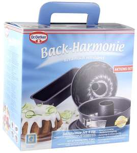 Dr. Oetker Baking Form-Set 4PCs @ Amazon Warehouse Used Like New £17.27 Prime £21.76 Non Prime
