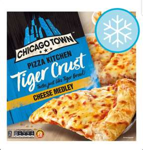 Chicago Town Pizza Kitchen Tiger Crust Cheese Medley Pizza 350g / Chicago Town Pizza Kitchen Tiger Crust Deli Pepperoni£1.50 at Sainsbury's