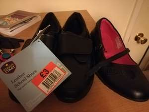 Girls and boys school shoes rtc £3 instore @ Lidl