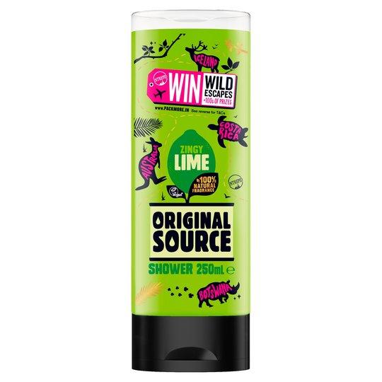 Original Source Shower Gel 250Ml (All varieties) £0.90 @ Tesco