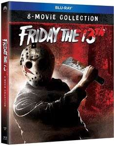 Friday the 13th: 8-Movie Collection Blu-ray £14.39 @ WOWHD