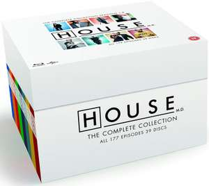 House - The Complete Collection [Blu-ray] [2004] [Region Free] now £41.54 delivered at Amazon
