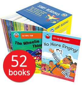 Start Reading Collection - 52 Books £25.49 delivered with code @ The Book People