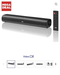 JVC TH-D227B 2.0 Compact Sound Bar at Currys for £49.99