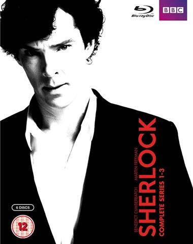 Pre-Owned: SHERLOCK Seasons 1-3 BLU-RAY Boxset £3 @ CEX