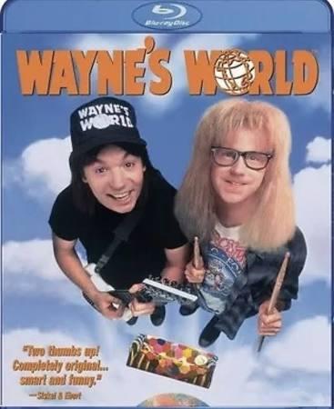 Wayne's World Blu Ray (region free) £4.88 @ WOWHD