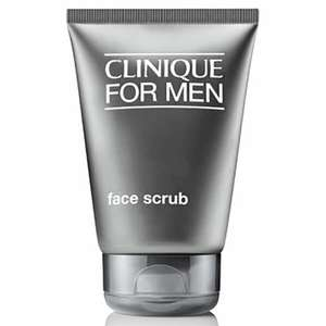 Clinique For Men Face Scrub 100ml at Mankind for £17.85