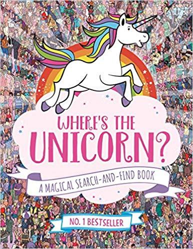 Where's the Unicorn? (Search and Find Activity) £3 (+£2.99 Non Prime) @ Amazon