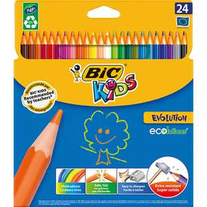 Bic Kids Evolution Colouring Pencils £2 @ Wilko