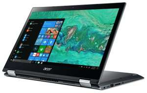 (Refurb) Acer Spin 3 14 Inch i5 8250U 1.6GHz 8GB 1TB HDD Windows Laptop - Grey £337.99 @ Argos eBay