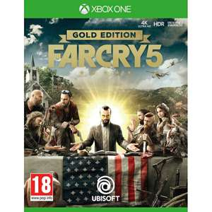 Far Cry 5 Gold Edition Xbox One Game for £19.99 Delivered @ 365games