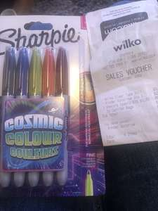 Sharpie Cosmic Colour couleurs 10p from Wilko instore