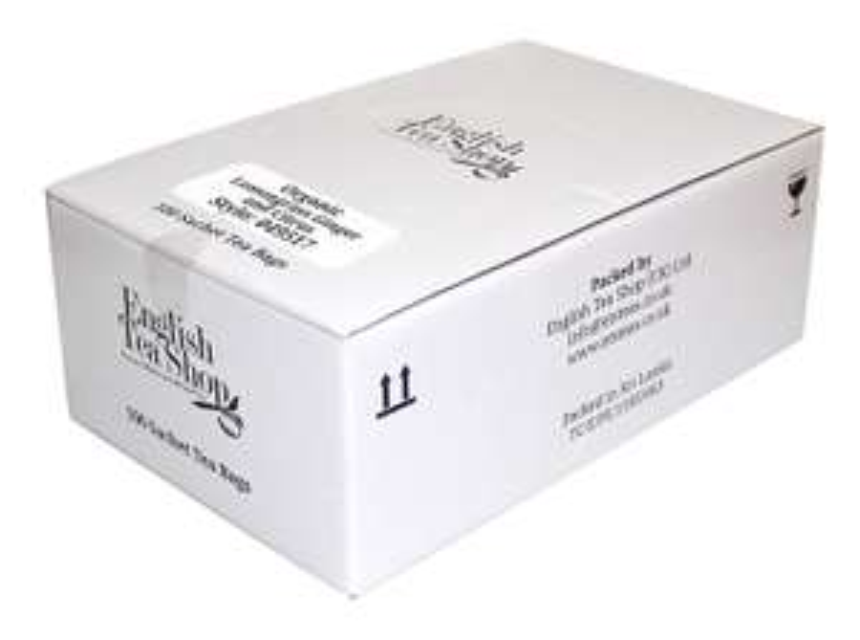 English Tea Shop Organic Lemongrass Ginger and Citrus Tea Bag Sachet, 100-Count @ Amazon £7.87 Prime £12.36 Non Prime