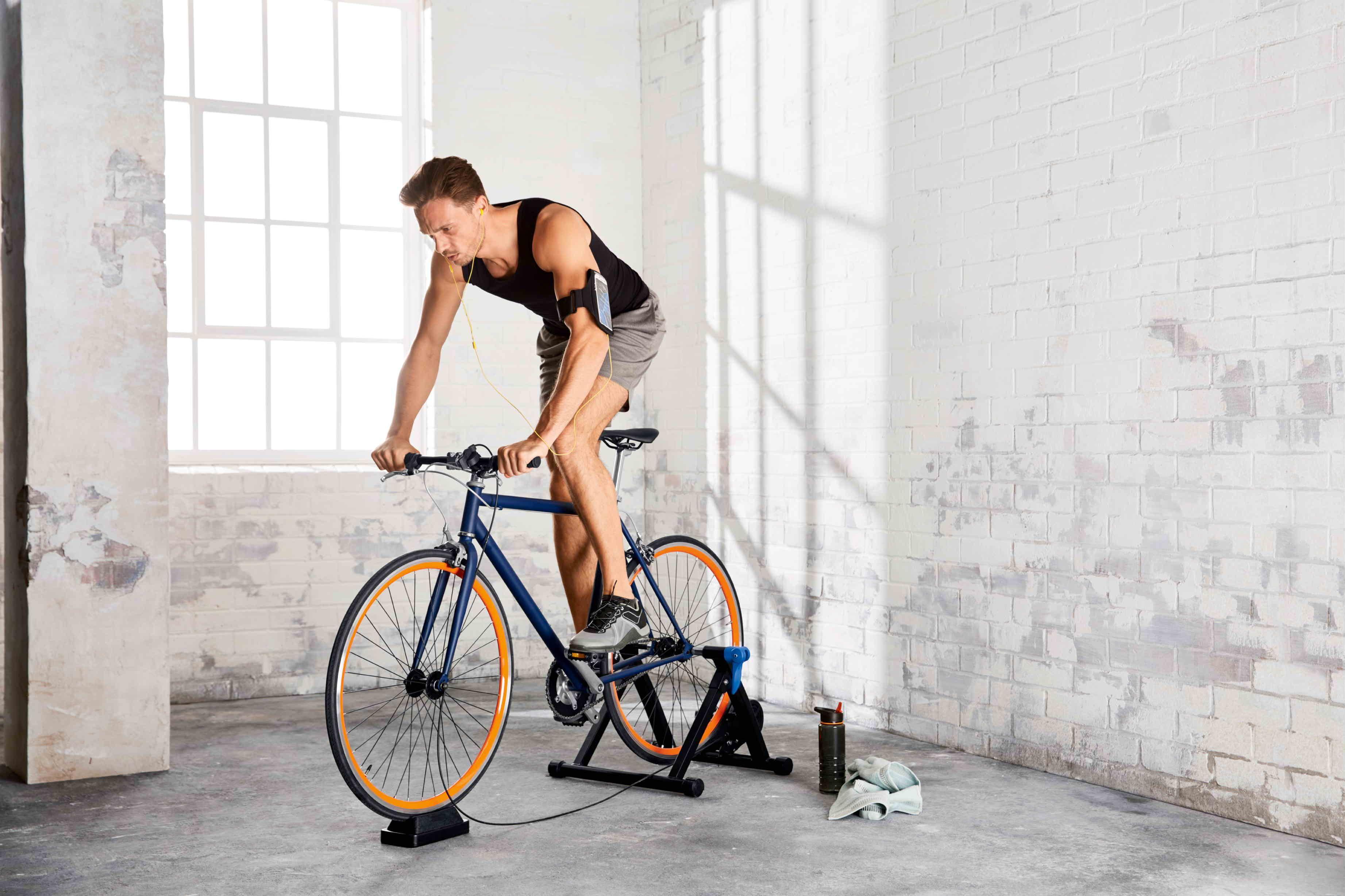 40% off Crivit Indoor Bike Trainer £29.99 - Lidl Brooklands MK