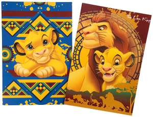 Disney Lion King Two A5 Notebook Journal, Writing Pad Workbook for Kids Featuring Simba £2.23 - Amazon Add on item!