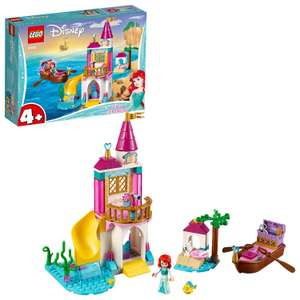LEGO 41160 Disney Princess Ariel's Seaside Castle Set with Mini Doll and Boat Toy, The Little Mermaid £12 at Amazon Prime / £16.49 Non Prime