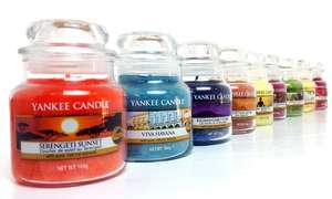 Six pack of assorted yankee candle jars £19 + £1.99 @ Groupon