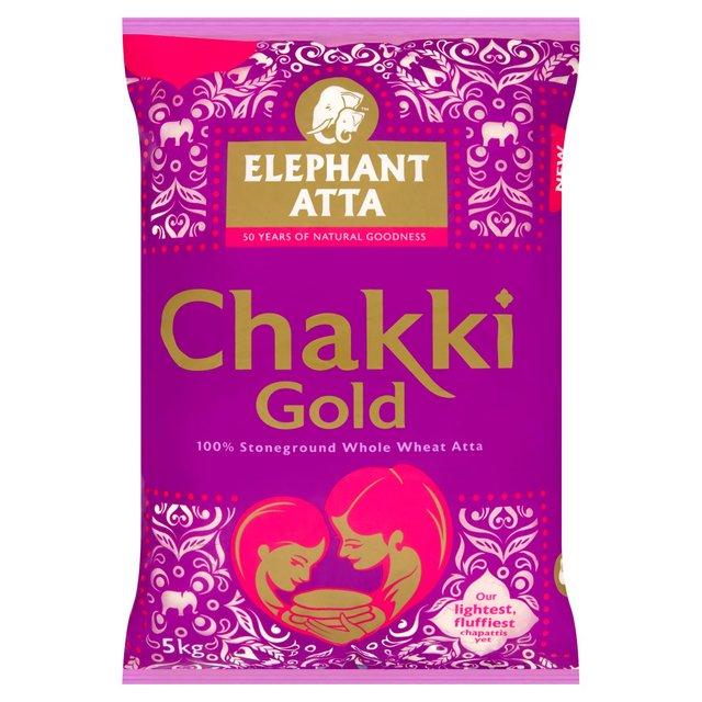 Elephant Atta Chakki Gold Wholemeal Flour 5kg - £4 @ Morrisons