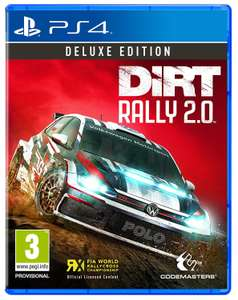 Dirt Rally 2.0 Deluxe Edition PS4 £34 at Amazon