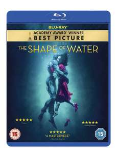 The Shape of Water Blu-ray now £4.48 (Prime) + £2.99 (non Prime) at Amazon