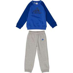 adidas Baby Boys Logo Jogger Set was £27.99 now £14.98 delivered or £9.99 Premier @ M&M Direct