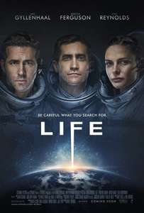 Life [Blu-ray] 2017 - with slipcover + UV code - £2 @ Poundland instore