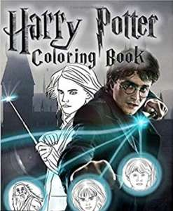 Harry Potter Coloring Book: Unique Images Based on Fantasy only £2.83 Prime / +£2.99 non Prime @ Amazon