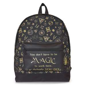 Fantastic Beasts Backpack only £9.95 Prime / +£4.49 non Prime - Sold by F & F Stores and Fulfilled by Amazon
