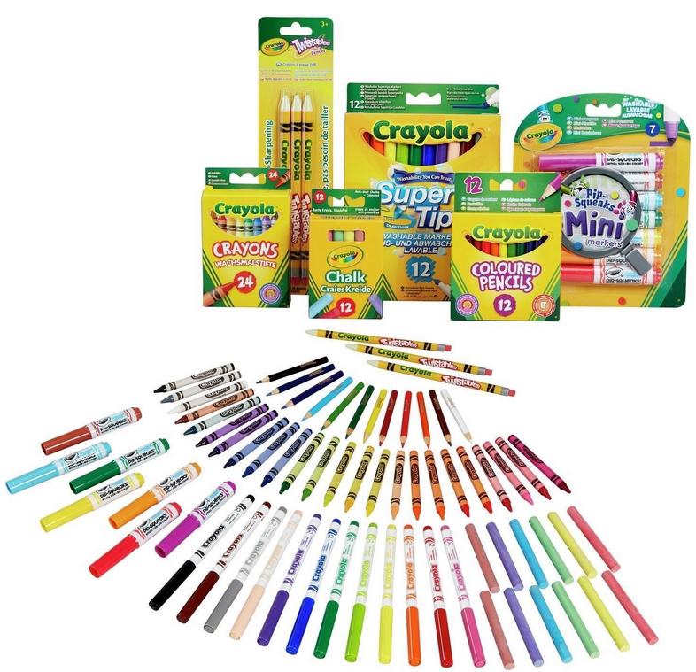 2 x Crayola 70 Piece Stationery Set - £15 + Free C&C @ Argos