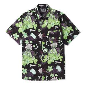 30% off Patterned Shirts e.g. Rick & Morty Floral Exclusive Shirt using code - £24.49 delivered @ Zavvi