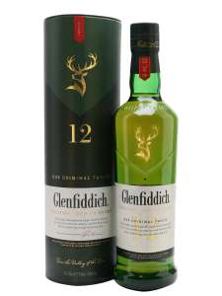 Glenfiddich 12 year old single malt - £25 @ Sainsbury's