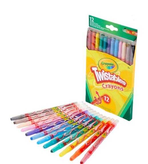 Crayola 12 Twistables Crayons - £1.99 + Free C&C @ Smyths Toys
