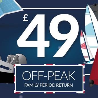 Family of 5 hovercraft overnight return for £49 @ Hover Travel